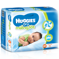 KBH-Bỉm Huggies NB2-60
