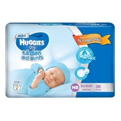 Bỉm Huggies NB36