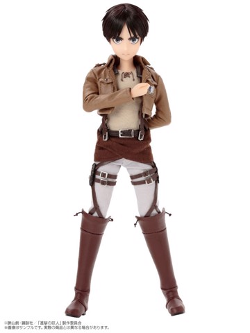 1/6 Asterisk Collection Series No.011 Attack on Titan - Eren Yeager Complete Doll