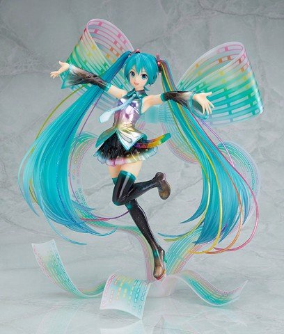 Character Vocal Series 01. Hatsune Miku 10th Anniversary Ver. 1/7