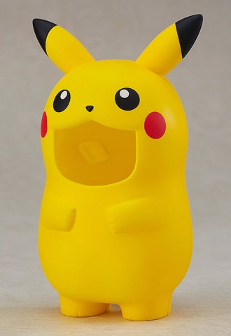 Nendoroid More - Pokemon Kigurumi Face Parts Case (Pikachu)