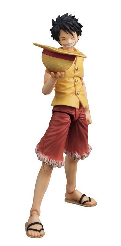 ONE PIECE: Monkey D. Luffy PAST BLUE (Ver.Yellow)