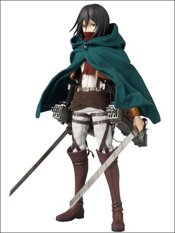 Mikasa Ackerman Real Action Heroes