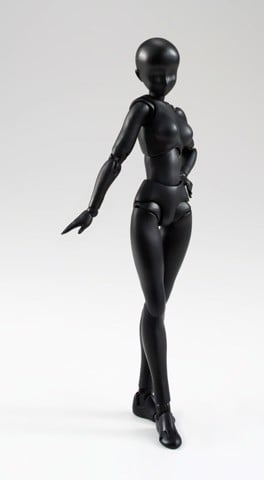 S.H. Figuarts - Body-chan (Solid black Color Ver.)