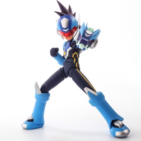 Action Figure Geo Stelar - Mega Man Star Force