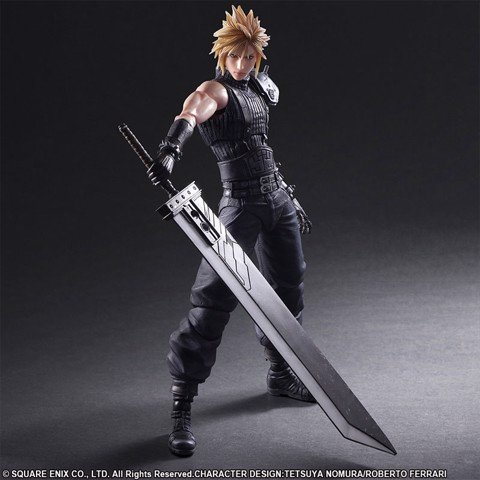 Play Arts Kai - Final Fantasy VII Remake No.1 Cloud Strife