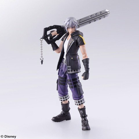 Kingdom Hearts III - Bring Arts: Riku
