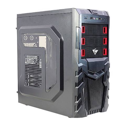 HiGamer Pro - Windowed Mid-Tower Gaming Case