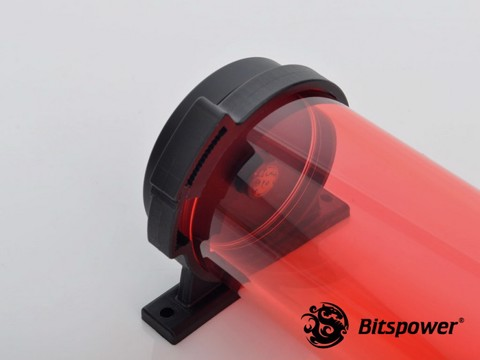 Bitspower Z-Multi 150 (Ice Red Body & Black Cap ) - Reservoir