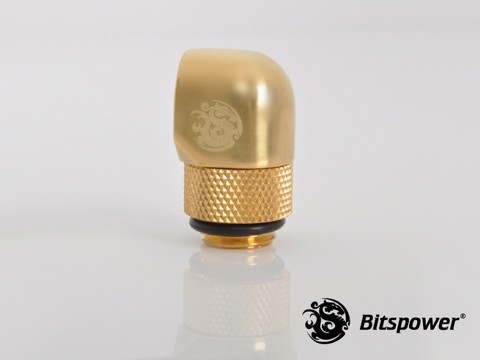 Bitspower G1/4'' Golden Rotary 90-Degree IG1/4'' Extender