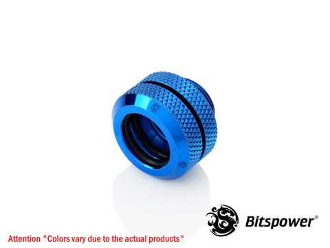 Bitspower G1/4'' Royal Blue Enhance Multi-Link For OD 12MM