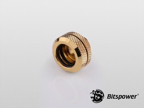 Bitspower G1/4'' Golden Enhance Multi-Link For OD 14MM