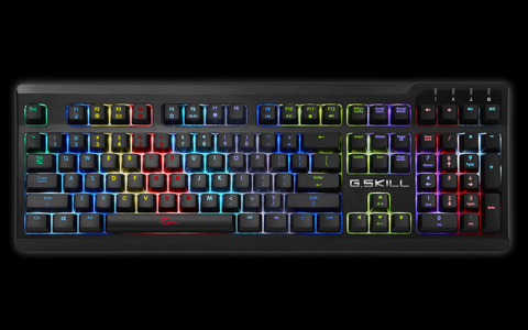 Gskill Ripjaws KM570 RGB - Cherry MX-Blue Mechanical Gaming Keyboard