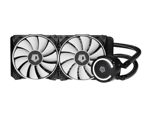 ID Cooling FrostFlow+ 240 - White High Performance Watercooling Kit