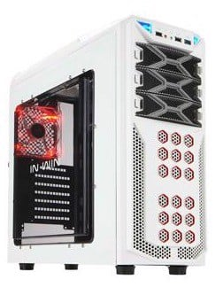 In-Win GT1 Snow White Gaming Mid-Tower Case