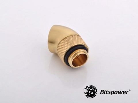 Bitspower G1/4'' Golden Rotary 60-Degree IG1/4'' Extender