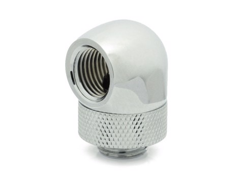 XSPC G1/4″ 90° Rotary Fitting (Chrome)