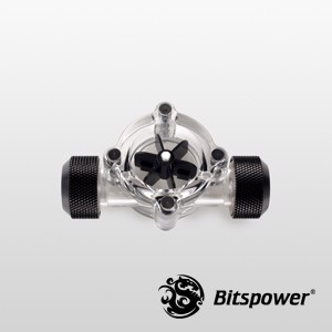Bitspower Flow Indicator Matt Black
