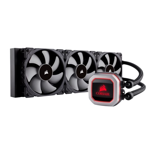Corsair Hydro Series H150i PRO RGB – 360mm Radiator With Triple Fan CPU Cooler