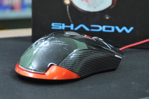 Infinity Shadow Black- 3600 dpi Gaming Mouse