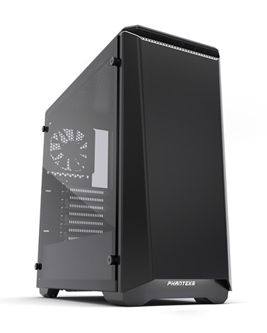 Phanteks Eclipse P400S Silent Edition Black/White Tempered Glass- RGB illumination Mid-Tower Case
