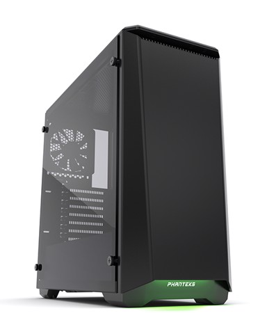 Phanteks Eclipse P400S Silent Edition Black Tempered Glass- RGB illumination Mid-Tower Case