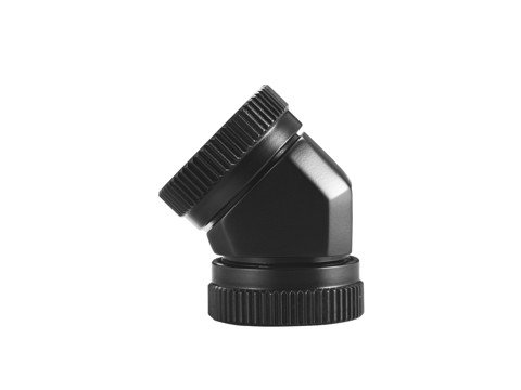 Phanteks Glacier 12mm Hard Tube Adapter 45 black