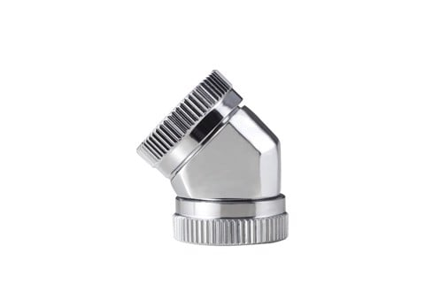 Phanteks Glacier 12mm Hard Tube Adapter 45 White