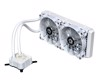 ID Cooling Icekimo 240 Pure White - High Performance Watercooling Kit