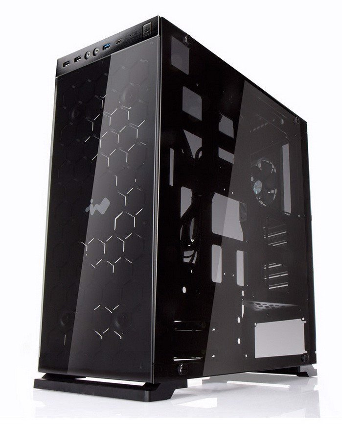 In-Win 805 - Aluminium & Tempered Glass Mid-Tower Case