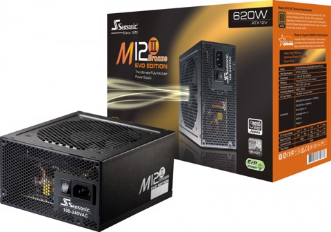 Seasonic M12II 620 - 80 Plus Bronze PSU