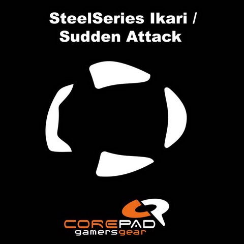 Corepad Skatez Pro for Steelseries Ikari Series -100% PTFE Mouse feet