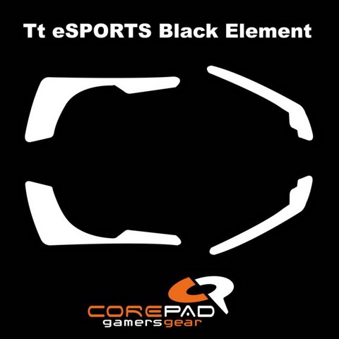 Corepad Skatez Pro for  Tt eSPORTS Black Element  -100% PTFE Mouse feet