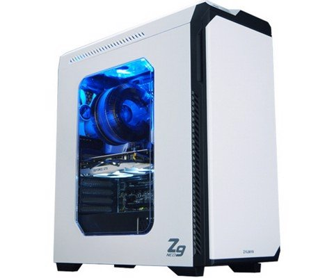 Zalman Z9 Neo White - ATX Tower Case