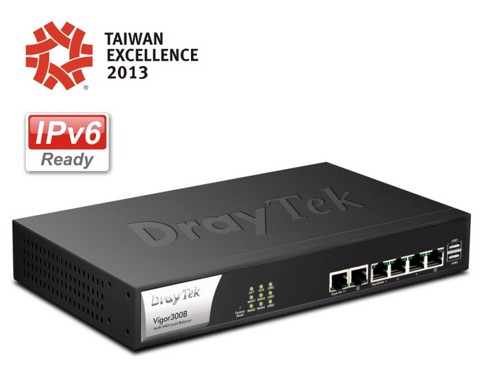 Draytek Vigor 300B - Triple-Wan Broadband Router