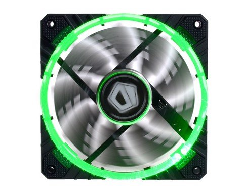 ID Cooling Concentric Circular CF-12025 Green Led - PWM High Performance Fan