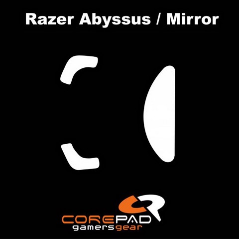 Corepad Skatez Pro for Razer Abyssus Series -100% PTFE Mouse feet