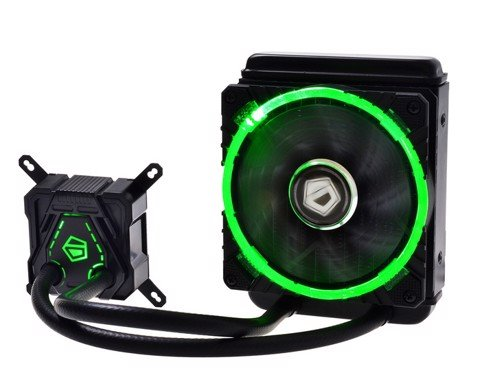 ID Cooling Icekimo Circle Green Led - High Performance Watercooling Kit