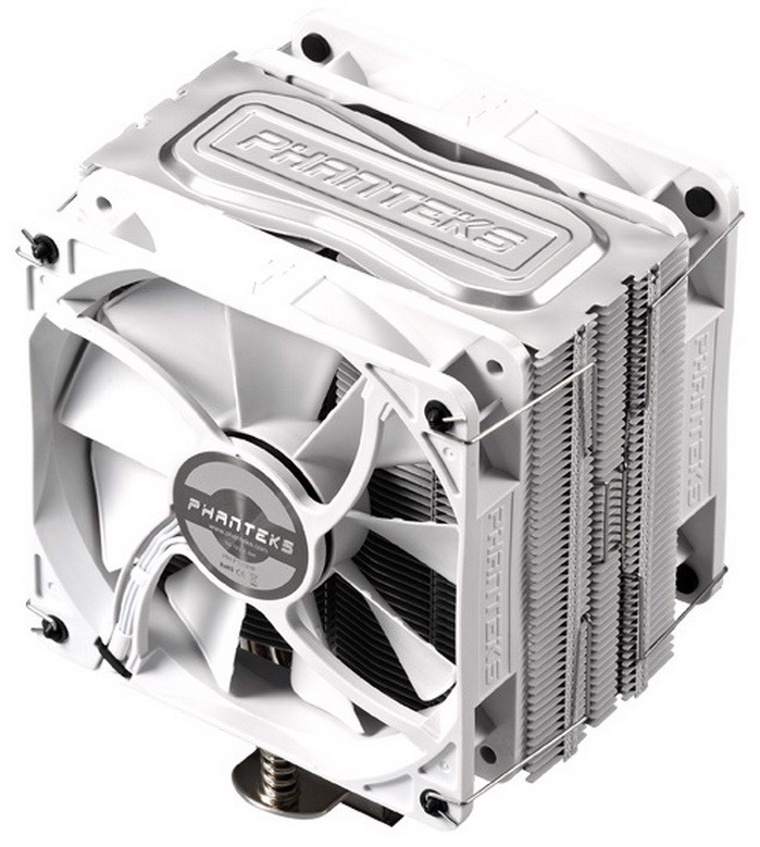 Phanteks TC12DX White Edition- Dual Fans Premium Cpu Cooler