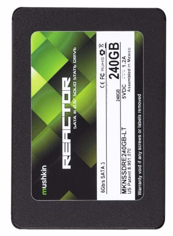 Mushkin Enhanced Reactor LT 7mm 240GB - Sata3 SSD