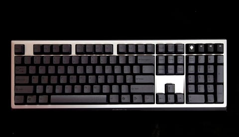 Tai-Hao Double Shot ABS Carbon Black - Full 104 keys