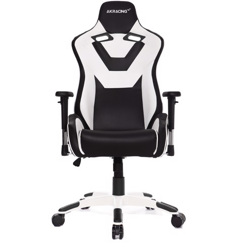 AK Racing Art White/Black -XXL Kingsize Gaming Chair