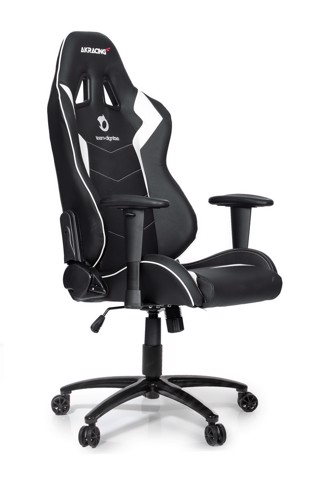 AK Racing Dignitas Black/White - Special Edition Gaming Chair
