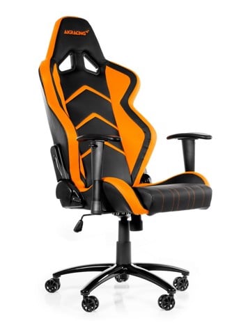 AK Racing Player+ Black/Orange - Gaming Chair