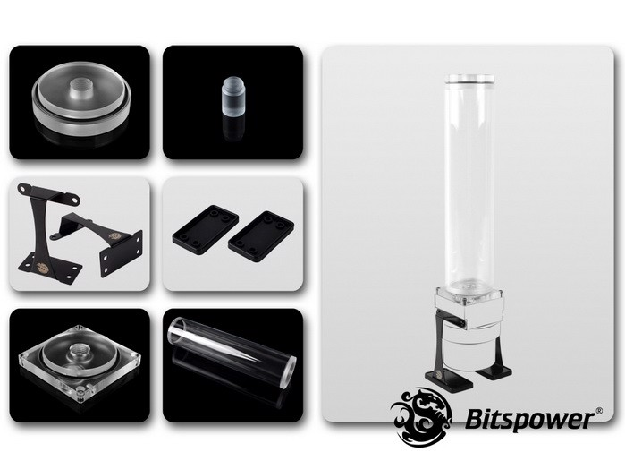 Dual / Single D5 Top Upgrade Kit 250 (Clear Acrylic Cap)
