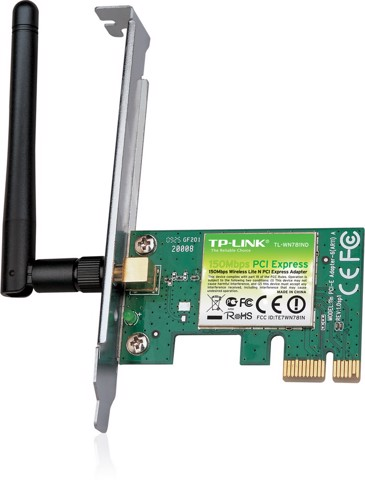 PCI-Express Wireless TP-Link Lite N 150M TL-WN781ND