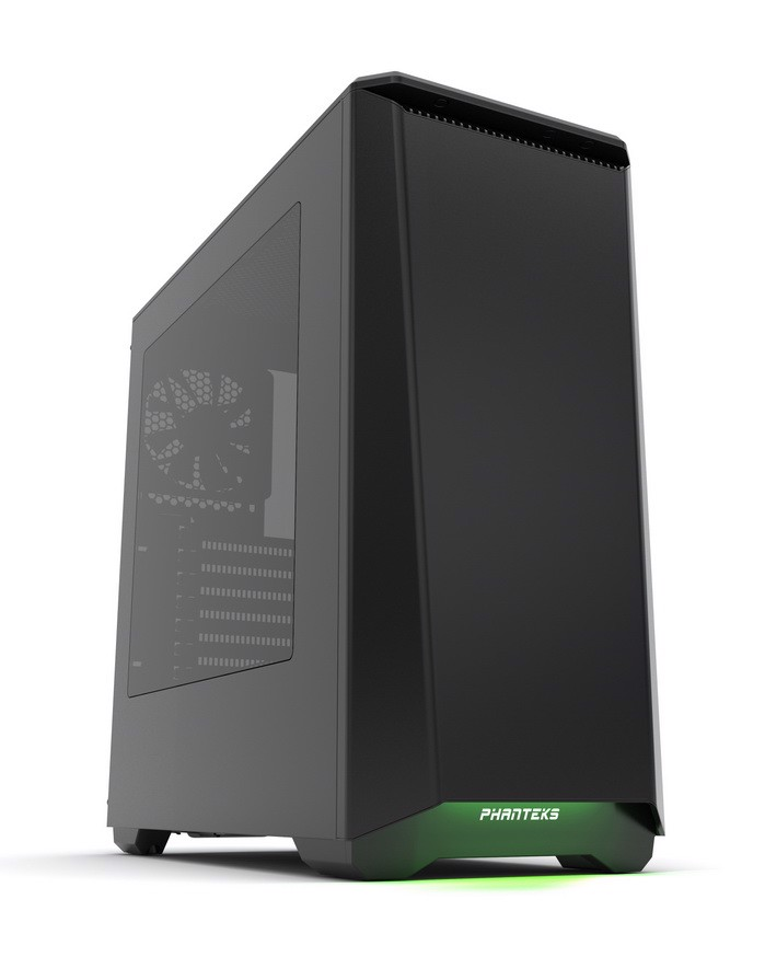 Phanteks Eclipse P400S Silent Edition Black - RGB illumination Mid-Tower Case