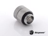 Bitspower G1/4'' Silver Shining Anti-Twist Adapter