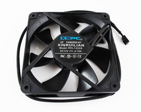XSPC 120mm Low Noise 1200RPM - Radiator fan