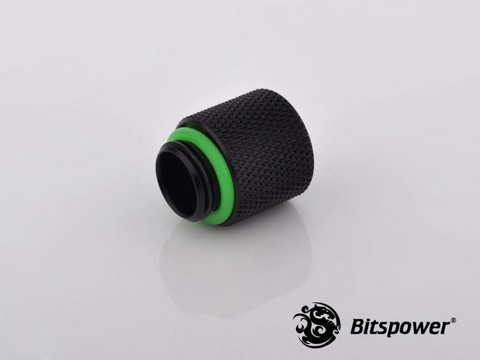 Bitspower G1/4'' Matt Black IG1/4'' Extender-15MM